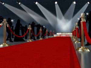 red carpet for oscars
